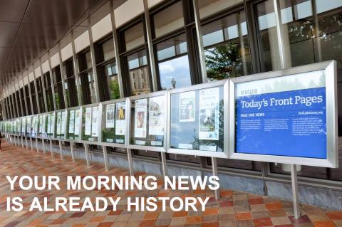 Say it in 6: Your Morning News is Already History